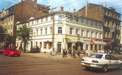 Hotel no centro de Riga, Letónia Baltico